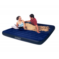 Надувной матрас INTEX Classic Downy King Airbed 183x203x22